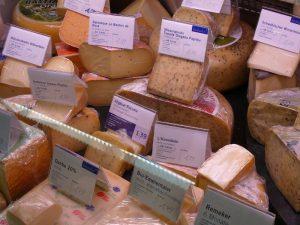 und Käsespezialitäten